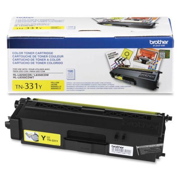 Brother TN331Y Yellow Toner Cartridge
