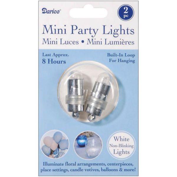 Non-Blinking Mini Party Lites 2/Pkg