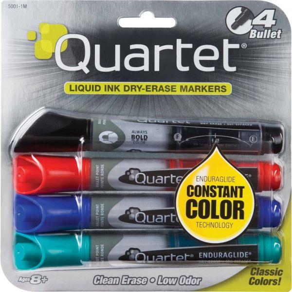 Quartet EnduraGlide Low Odor Dry-Erase Markers