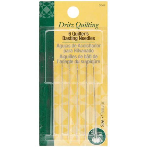 Dritz Quilting Quilter's Basting Hand Needles