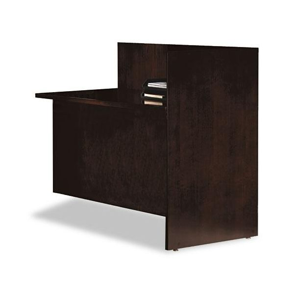 Tiffany Industries Eclipse Series Reception Station Return, 48w x 24d x 42h, Espresso