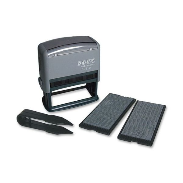 Xstamper Self-Inking Custom Message Stamp Kit