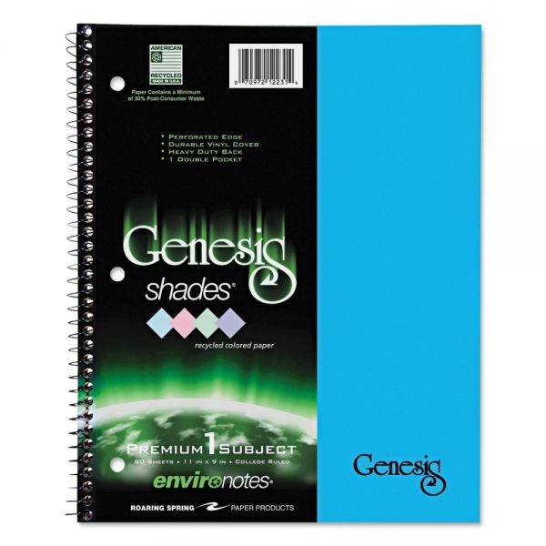 Genesis 1-Subject Shades Notebook