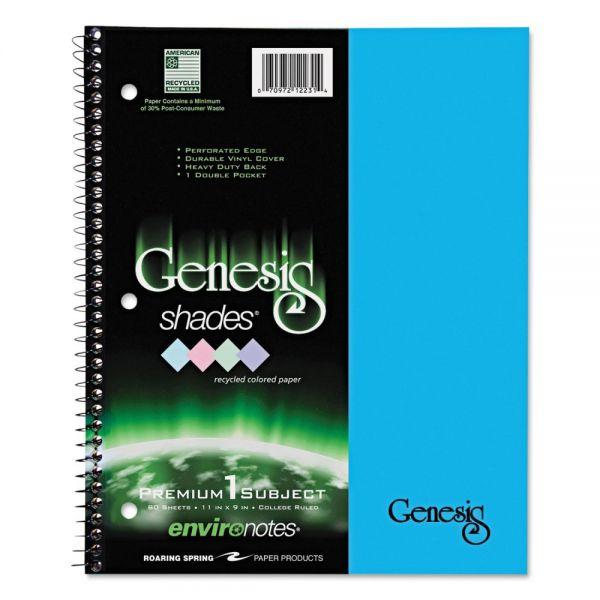 Genesis 1-Subject Shades Notebook
