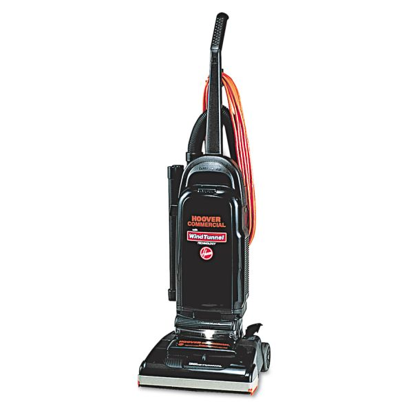 """Hoover Commercial WindTunnel Bagged Upright Vacuum, 13"""" Cleaning Path"""