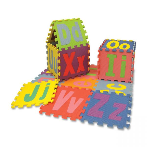 WonderFoam Upper & Lower Case Alphabet Puzzle Mat