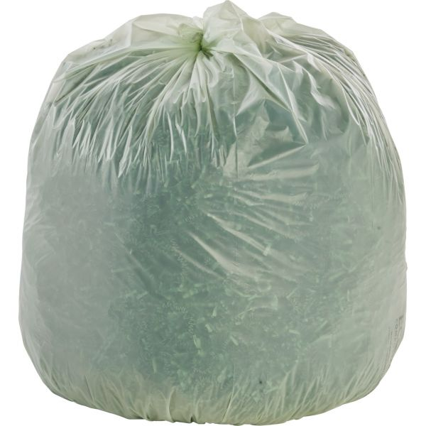 Stout Ecosafe Compostable 32 Gallon Trash Bags