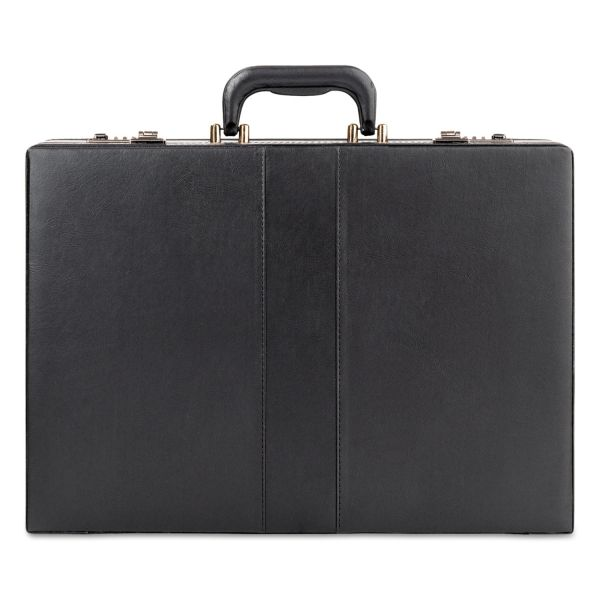 "Solo Classic Attaché, 12 1/2"" x 4"" x 17 1/2"", Black"