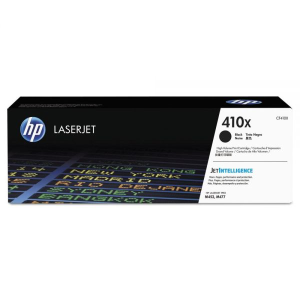 HP 410X High Yield Black Toner Cartridge (CF410X)