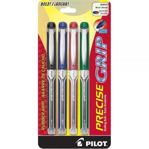 Pilot Precise Grip Rollerball Pens