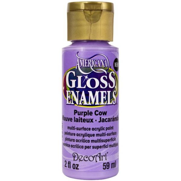 Deco Art Purple Cow Americana Gloss Enamels Paint