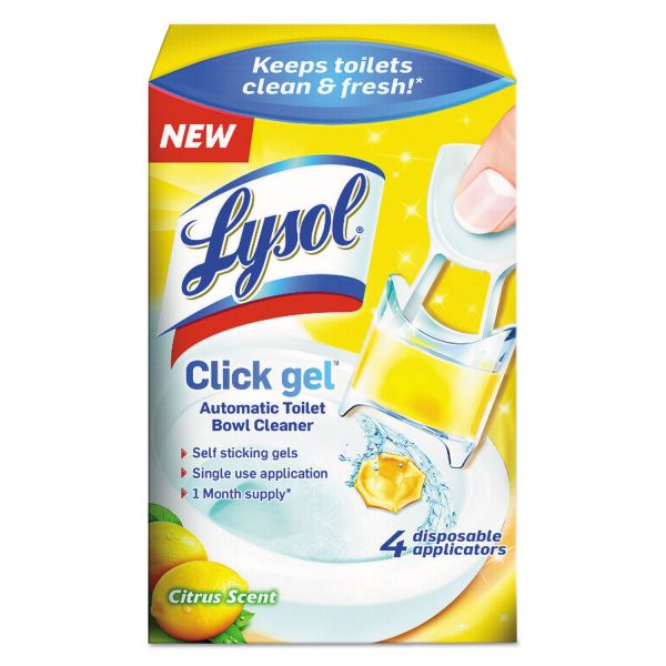 LYSOL Brand Click Gel Automatic Toilet Bowl Cleaner