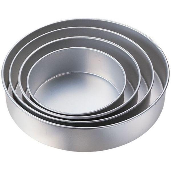 4-Tier Deep Cake Pan Set