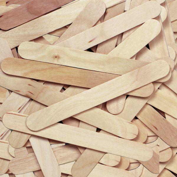 Creativity Street Natural Wood Jumbo Craft Sticks