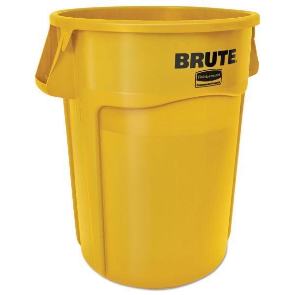 Rubbermaid Commercial Brute Vented 44 Gallon Trash Can