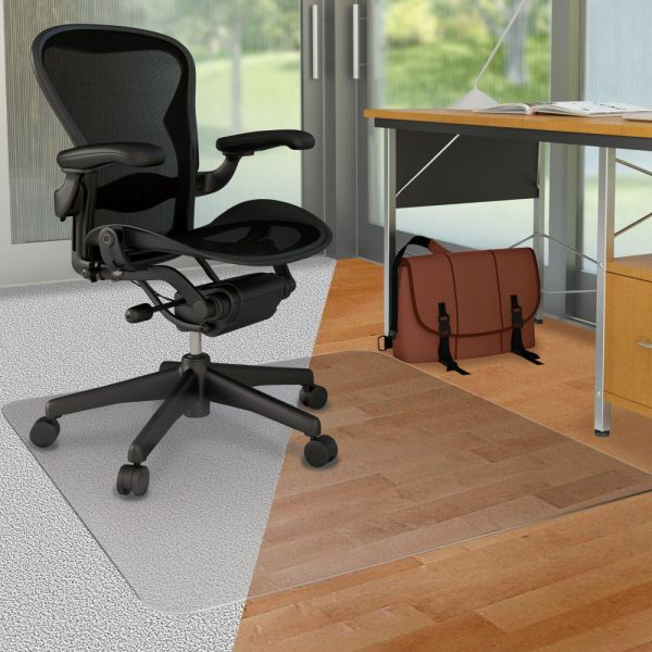 Deflect-o DuoMat Carpet/Hard Floor Chairmat
