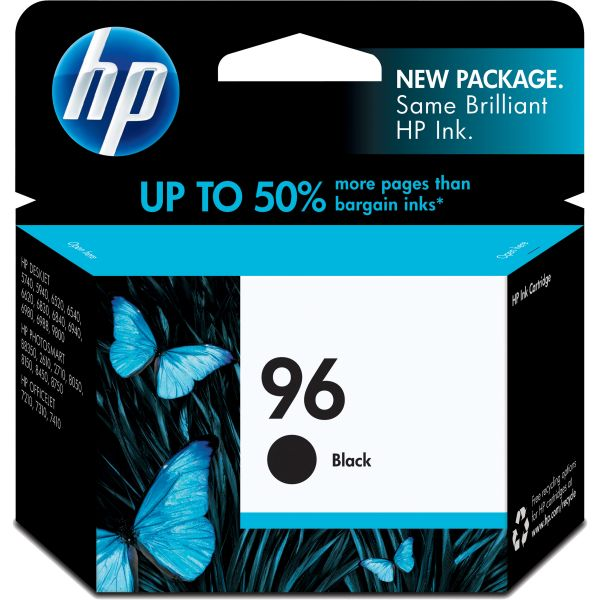 HP 96 Black Ink Cartridge (C8767WN)