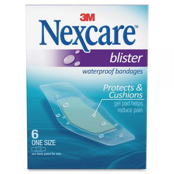 Nexcare Blister Waterproof Bandages, One Size