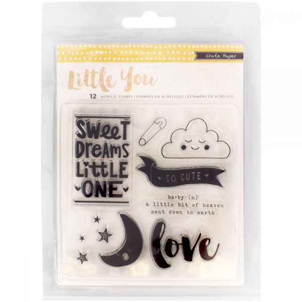 Little You Clear Acrylic Stamps