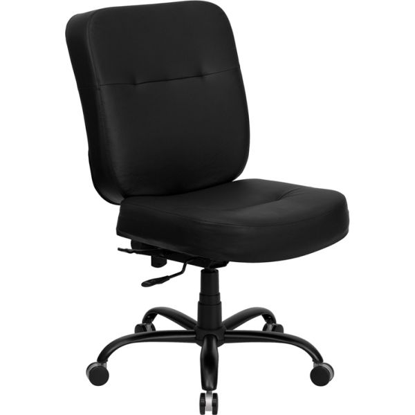 Flash Furniture HERCULES Series Big & Tall Leather Executive Office Chair