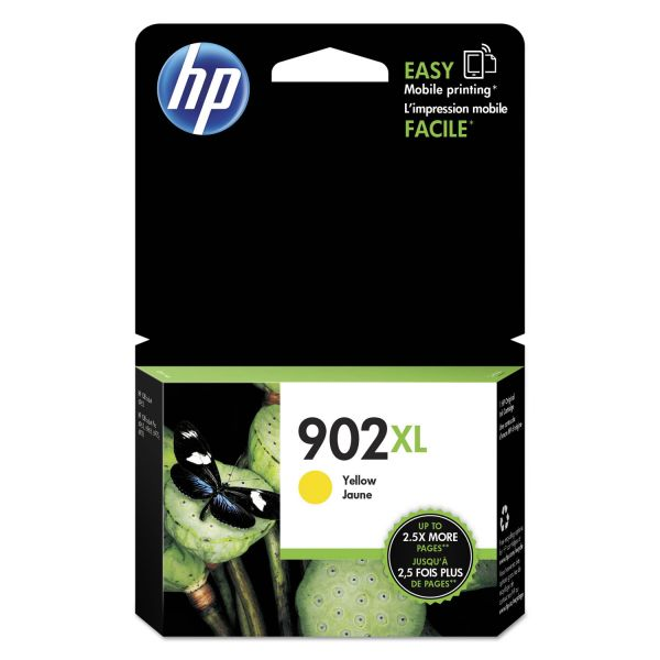 HP 902XL High-Yield Yellow Ink Cartridge (T6M10AN)