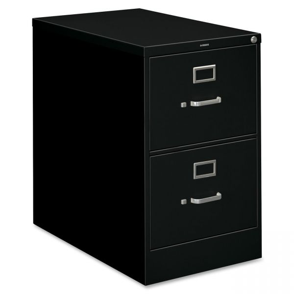 HON 210 Series 2 Drawer Locking Vertical File Cabinet