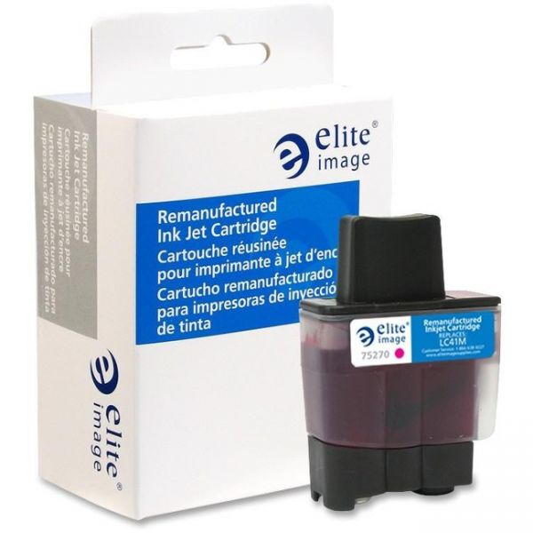 Elite Image Remanufactured Brother LC41M Ink Cartridge