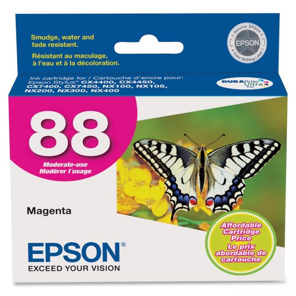 Epson 88 Magenta Ink Cartridge (T088320)