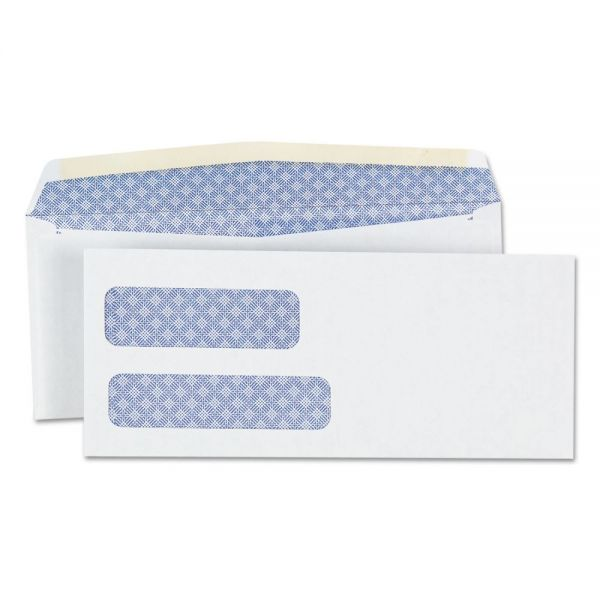 Universal Double Window #9 Business Envelopes