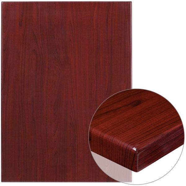 Flash Furniture Restangular Resin Table Top