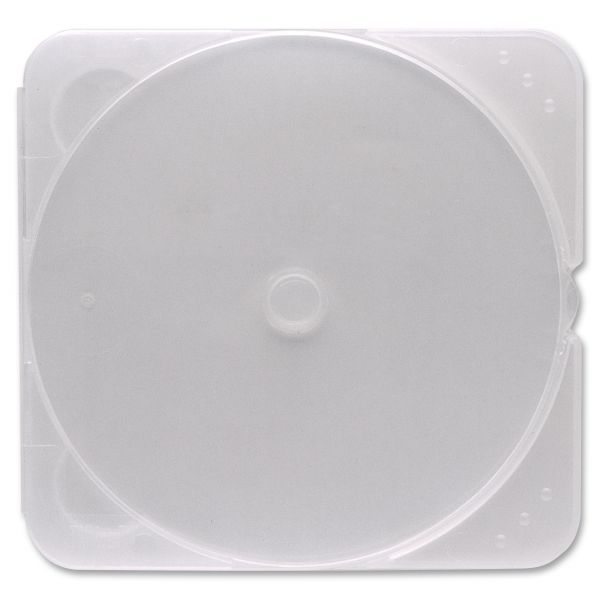 Verbatim CD/DVD Clear TRIMpak Cases - 200pk (bulk) - TAA Compliant