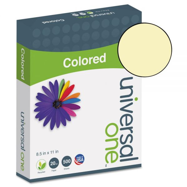 Universal One Premium Colored Paper - Canary
