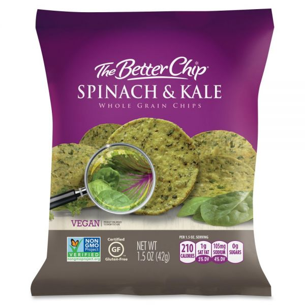 The Better Chip Gluten-Free Spinach/Kale Chips