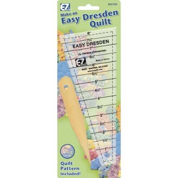 Easy Dresden Quilting Ruler