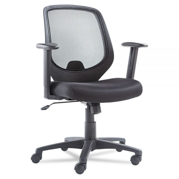 OIF Mesh Mid-Back Task Chair With Adjustable Arms