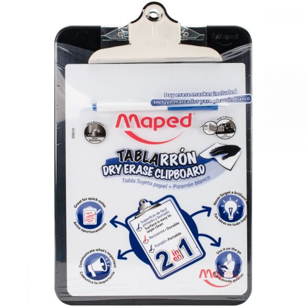 Dry Erase Clipboard with Marker