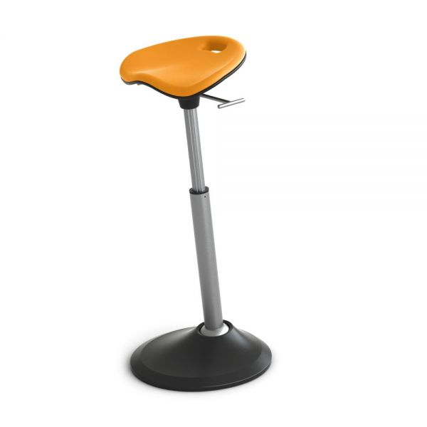 Safco Mobis Seat by Focal Upright - Citrus