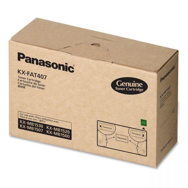 Panasonic KXFAT407 Black Toner Cartridge