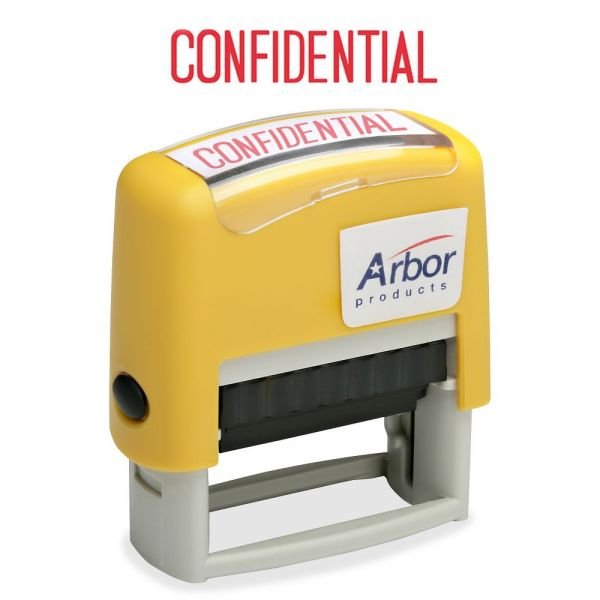 "SKILCRAFT Pre-inked ""Confidential"" Stamp"