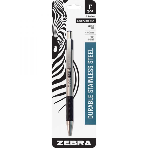 Zebra Pen F-301 The Original  Ballpoint Pen
