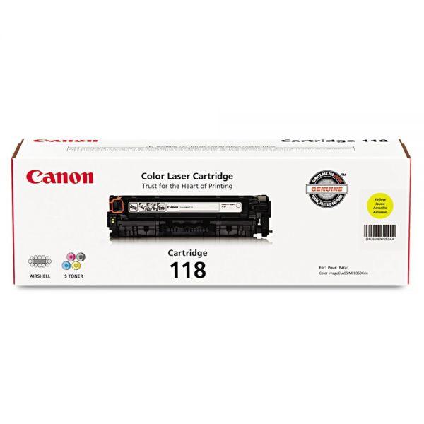 Canon 2659B001 (118) Toner, Yellow