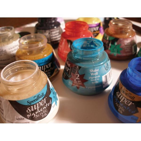 Speedball Super Pigmented Acrylic Ink 2oz