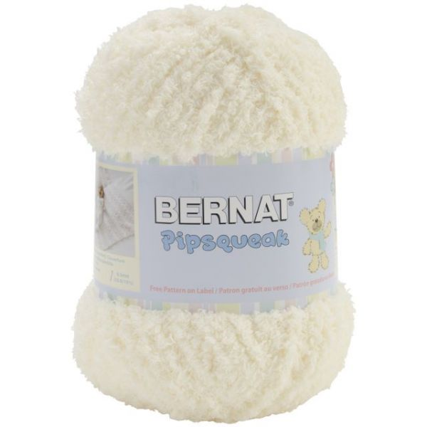 Bernat Pipsqueak Big Ball Yarn - Vanilla