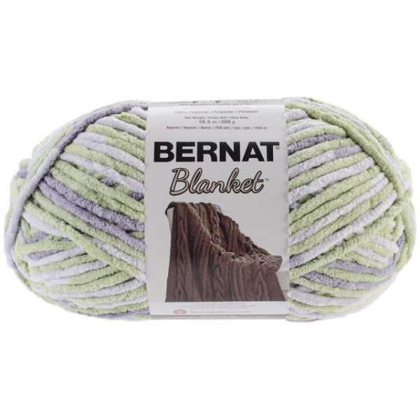 Bernat Blanket Big Ball Yarn - Lilac Leaf