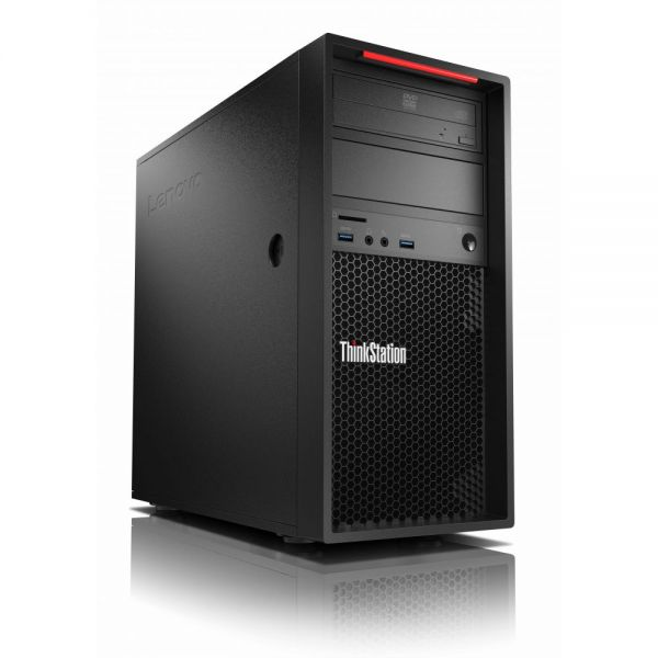 Lenovo ThinkStation P310 30AT000GUS Tower Workstation - 1 x Processors Supported - 1 x Intel Xeon E3-1245 Quad-core (4 Core) 3.50 GHz - Raven Black