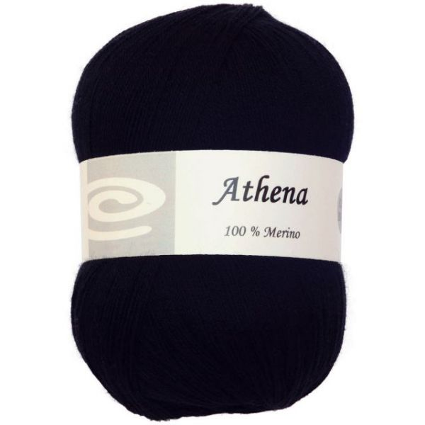 Elegant Athena Yarn - Black