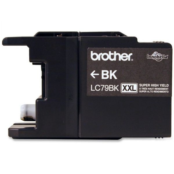 Brother LC79BK Black Super High Yield Ink Cartridge