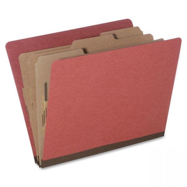 SKILCRAFT 3-Divider Pressboard Classification Folders
