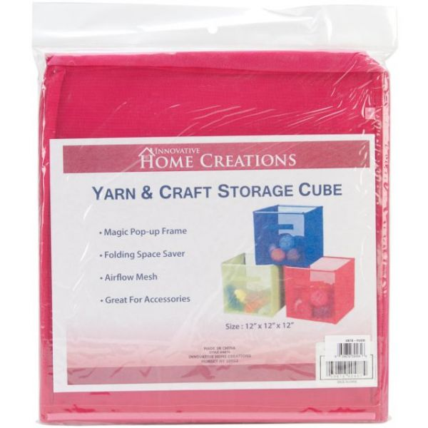 "Yarn & Craft Storage Cube 12""X12""X12"""