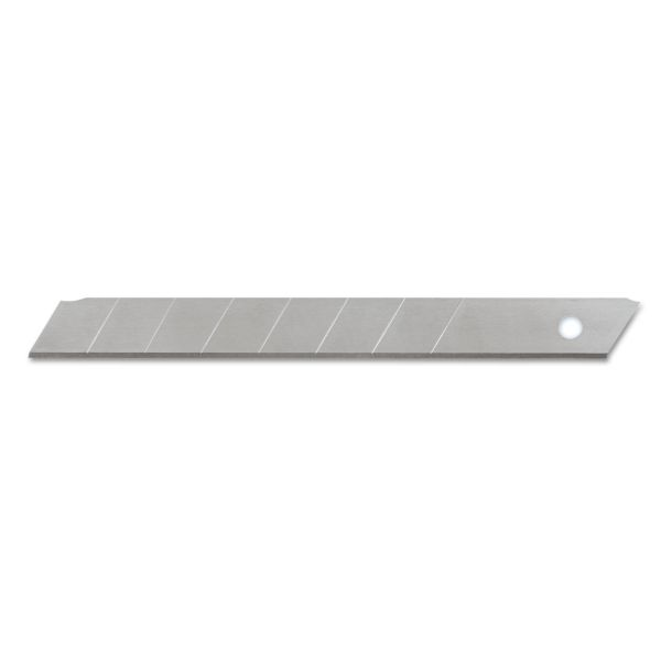 COSCO QuickPoint Snap-Off Straight Handle Retractable Knife Replacement Blade, 10/Pack